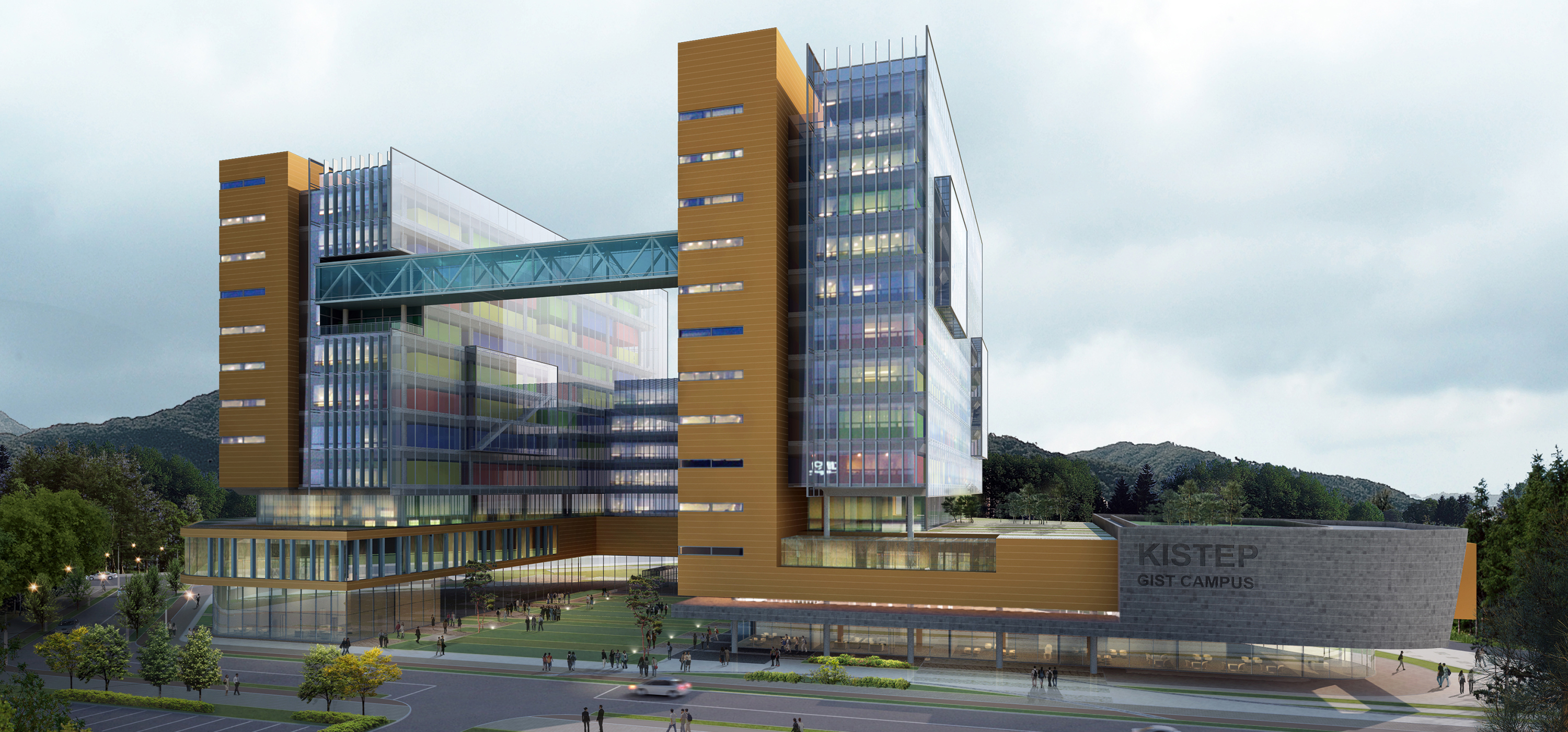 Korea basic science institute campus project haeahn for Design hotel xym ulsan